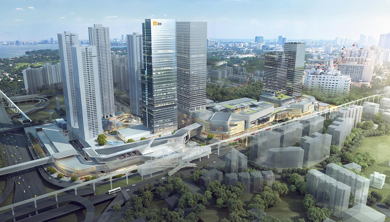 重庆万象城二期商业综合体