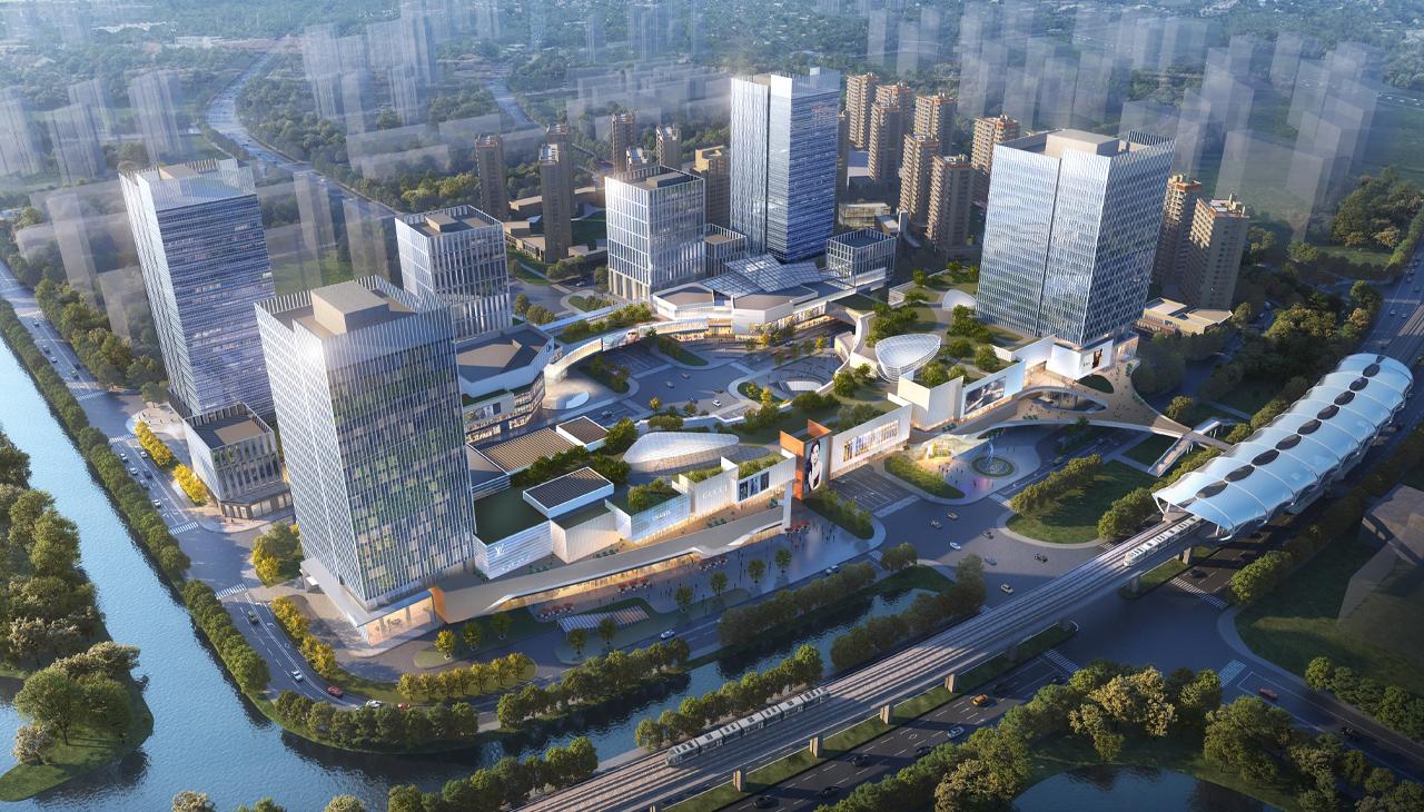 金地上海美兰湖地铁上盖城市综合体