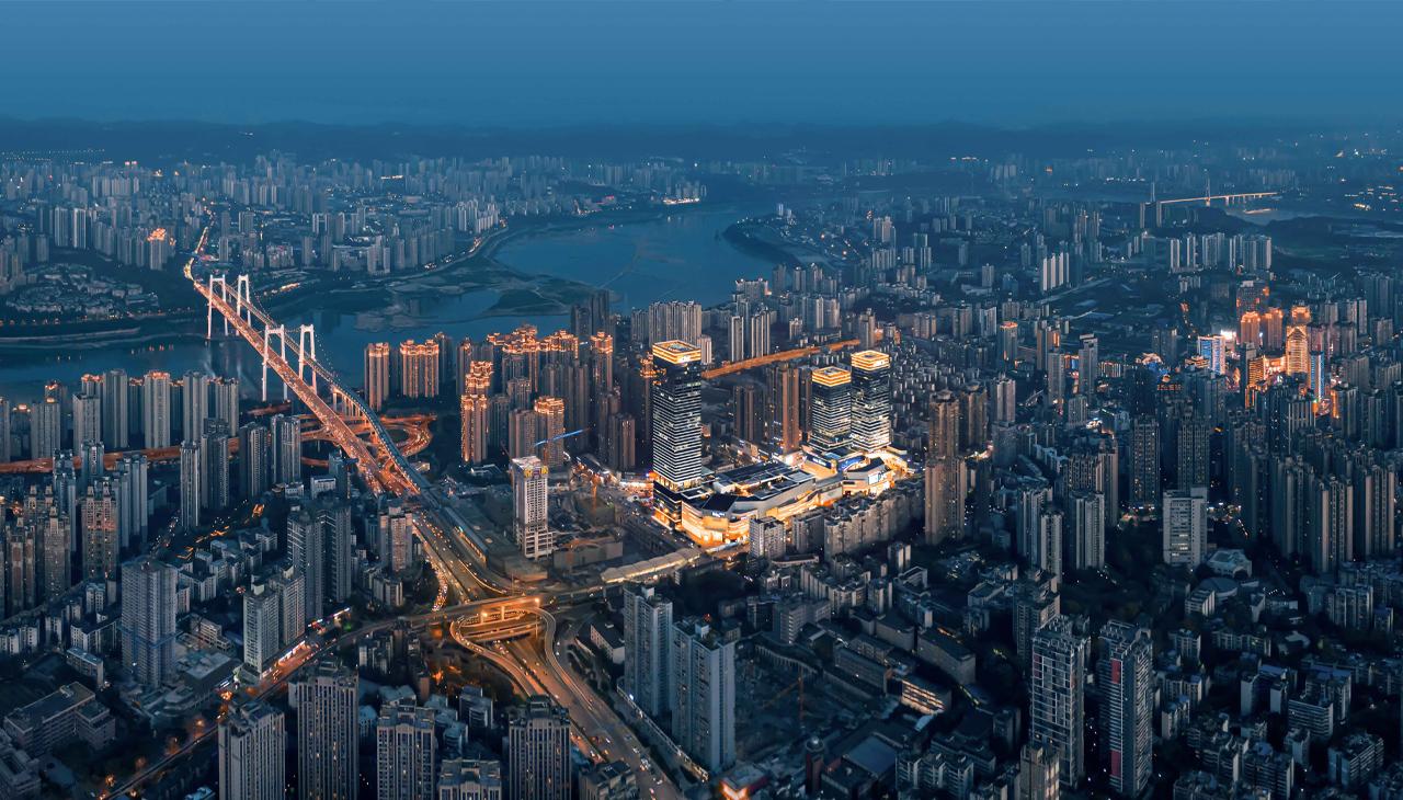 重庆万象城一期商业综合体